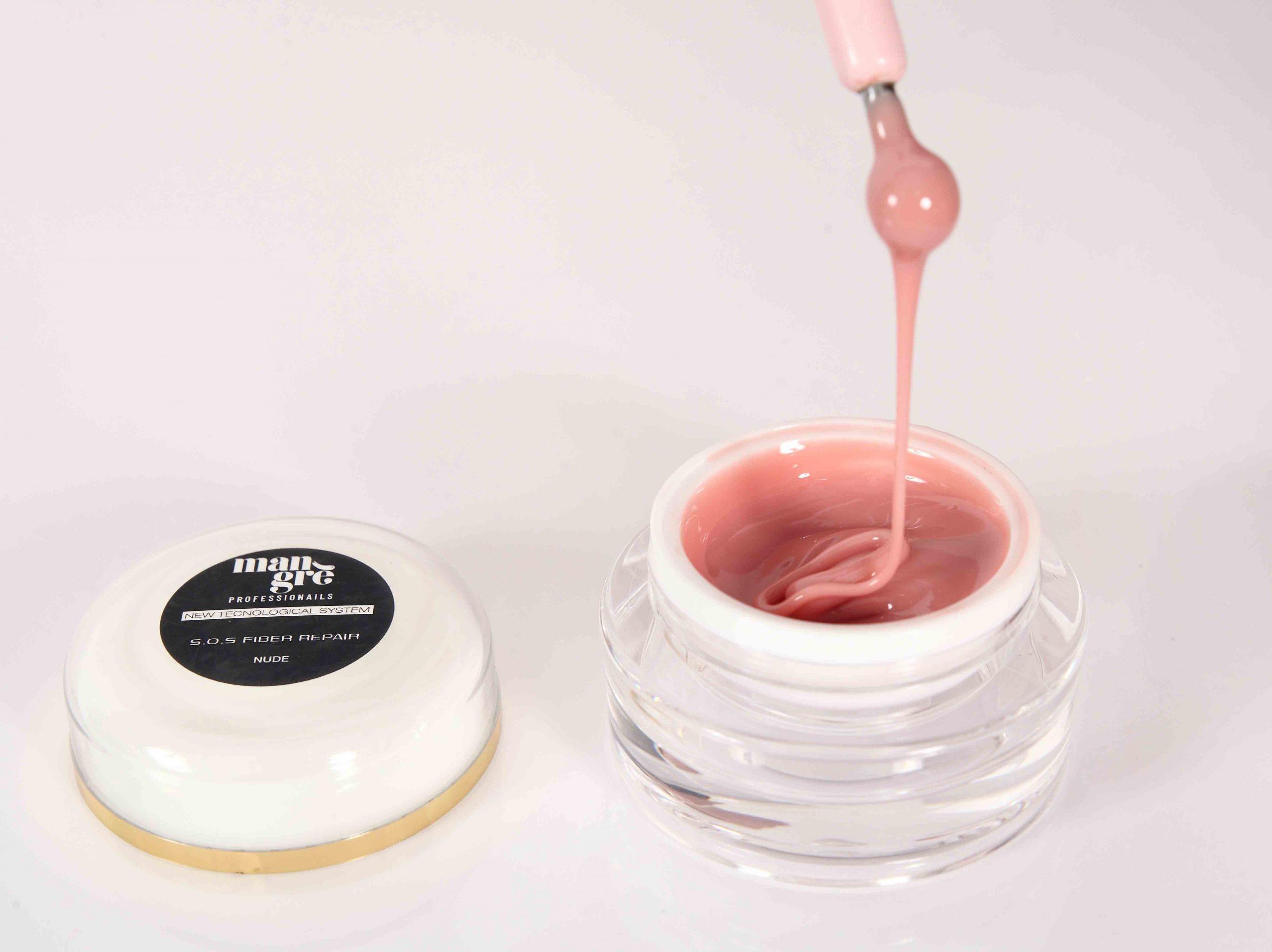 Fiber Nude UV/LED jednofázový samonivelační gel